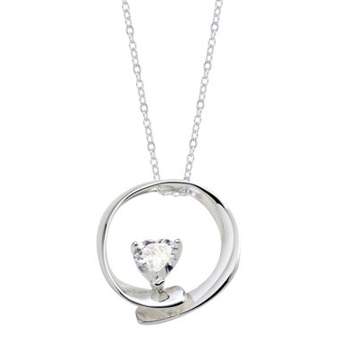 Footnotes Footnotes Womens White Pendant Necklace