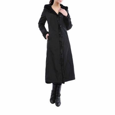 Momo Baby Overcoat Lorraine Reversible Faux Mink Fur Coat