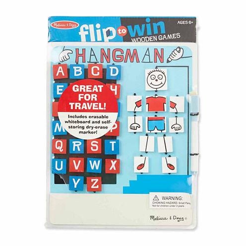 Melissa & Doug® Flip to Win Hangman