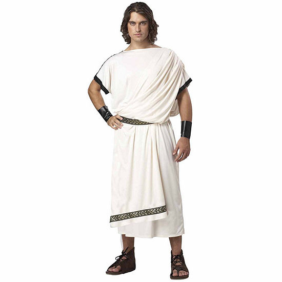 Deluxe Classic Toga (Male) Adult Costume - Standard One-Size