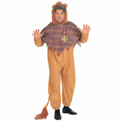 The Wizard of Oz  Cowardly Lion  Adult Costume - One Size Fits Most