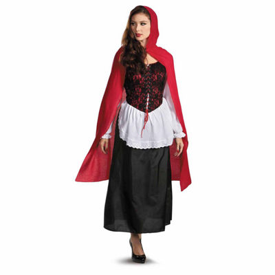 Red Riding Hood Deluxe Adult Costume - 12-14