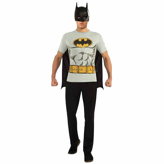 Buyseasons Batman T-Shirt Adult Costume Kit