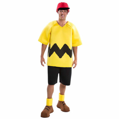 Peanuts: Deluxe Charlie Brown Adult Costume