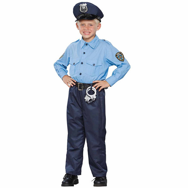 Buyseasons Deluxe Policeman Child Costume