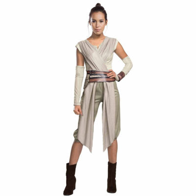 Star Wars:  The Force Awakens - Womens Deluxe ReyCostume