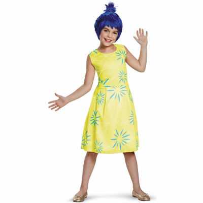 Disney Inside Out - Classic Joy Costume For Girls