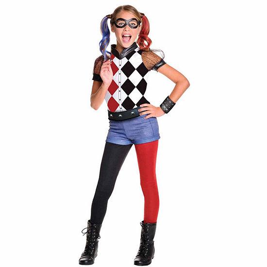 Buyseasons DC Superhero Girls: Harley Quinn Deluxe Child Costume