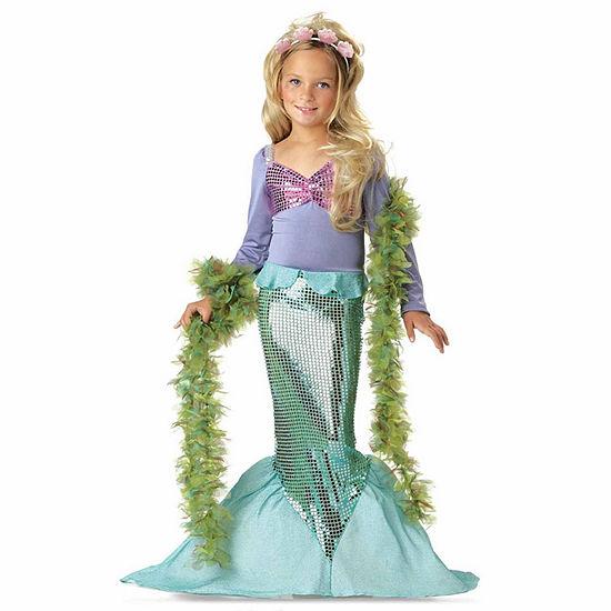 Lil Mermaid Toddler Costume 2 4t