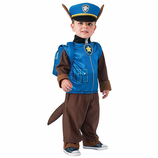 Paw Patrol - Chase Toddler Child Costume - X-Small(2T-4T)