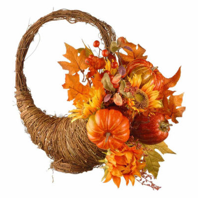 National Tree Co. 22 In Maples And Pumpkins Tabletop Decor
