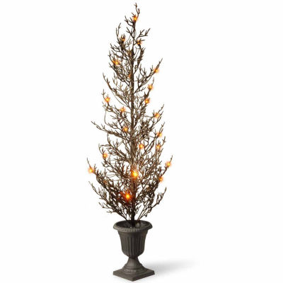 National Tree Co. 46 Inch Lighted Glitter Tree Tabletop Decor