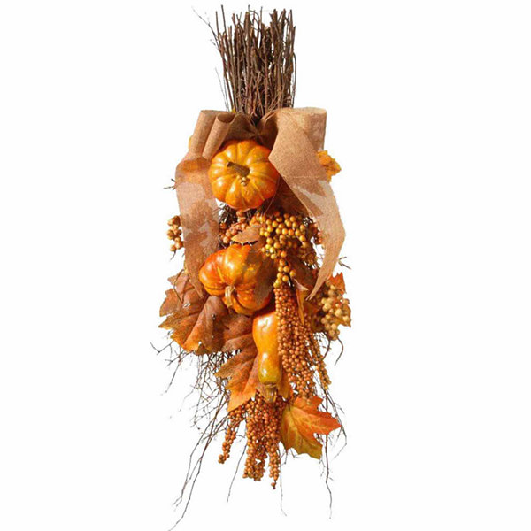 National Tree Co. 18 Inch Pumpkin Tabletop Decor