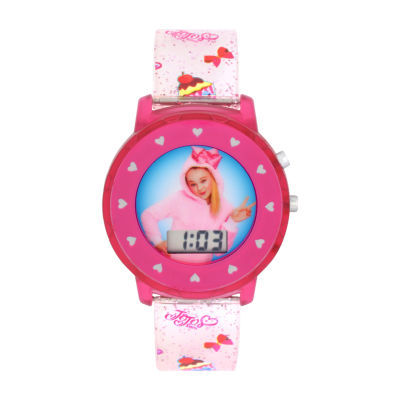 Jojo Siwa Jojo Siwa Girls Pink Strap Watch-Joj4014jc