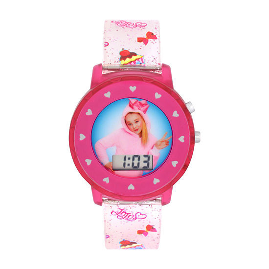 Jojo Siwa Jojo Siwa Girls Digital Pink Strap Watch-Joj4014jc