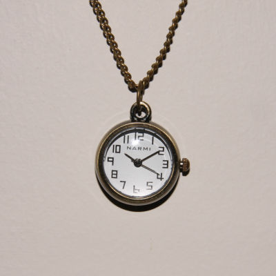 Olivia Pratt Womens Pocket Watch-10368gold