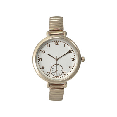 Olivia Pratt Gold Tone Cuff Watch-15541gold