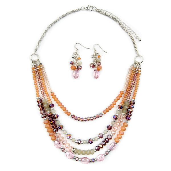 Jcp Womens 3-pc. Necklace Set aumZo