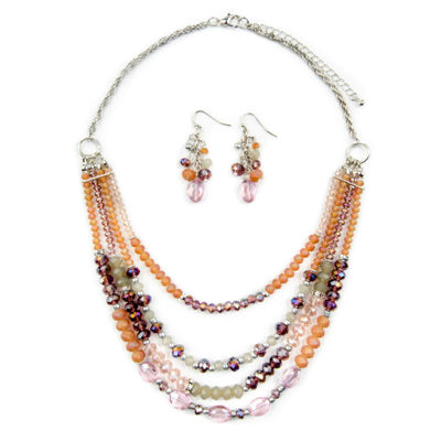Mixit Womens 3-pc. Necklace Set