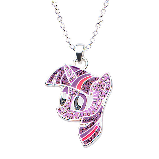 Womens My Little Pony Multi-Color Brass Pendant Necklace