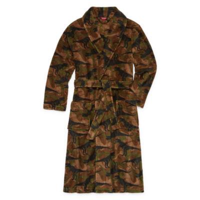 Arizona Long Sleeve Robe-Big Kid Boys Husky