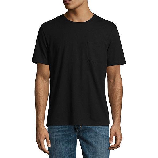 St Johns Bay Mens Crew Neck Short Sleeve T Shirt