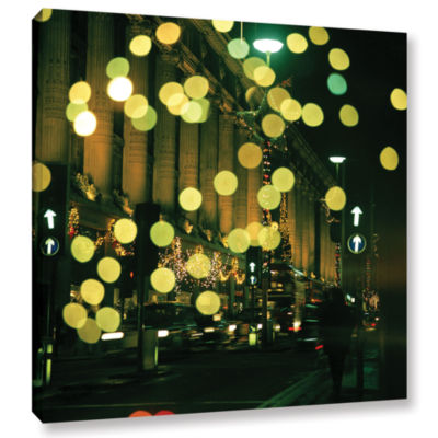 Brushstone Lights Oxford Gallery Wrapped Canvas Wall Art
