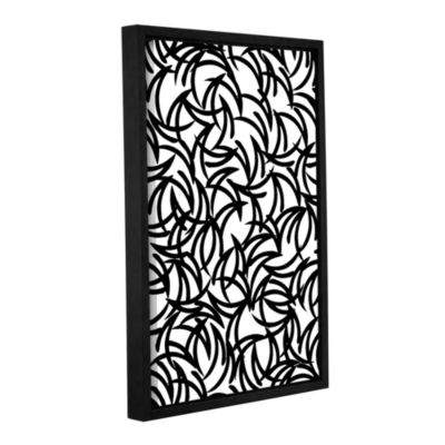 Brushstone Graphic Geo Gallery Wrapped Floater-Framed Canvas Wall Art