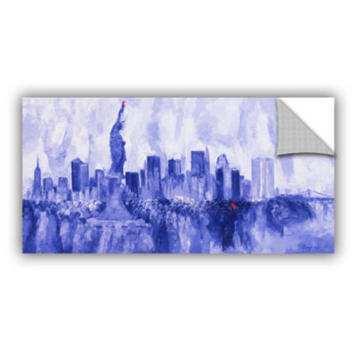 Brushstone NYC 2007 Removable Wall Decal