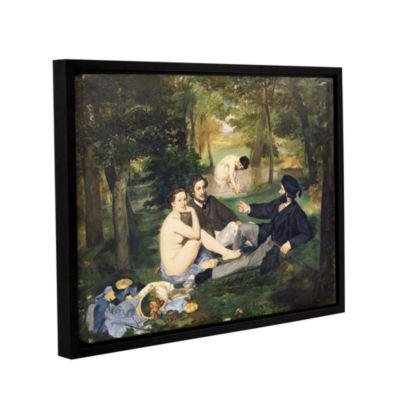Brushstone Dejeuner sur I'Herbe Gallery Wrapped Floater-Framed Canvas Wall Art