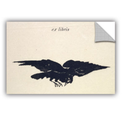 Brushstone Le Corbeau (The Raven) Removable Wall Decal