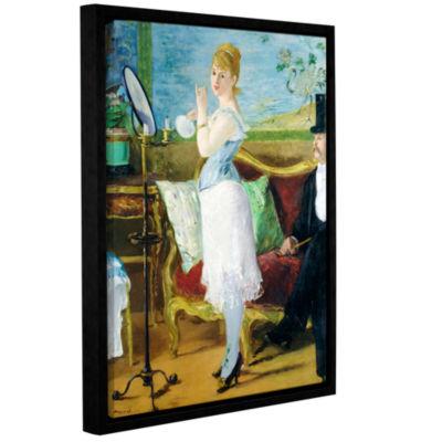 Brushstone Nana Gallery Wrapped Floater-Framed Canvas Wall Art