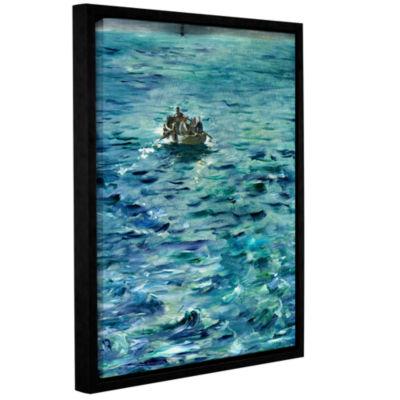 Brushstone The Escape of Henri de Rochefort 20 March 1874 Gallery Wrapped Floater-Framed Canvas WallArt