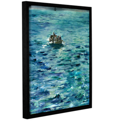 Brushstone The Escape of Henri de Rochefort 20 March 1874 Gallery Wrapped Floater-Framed Canvas WallArt