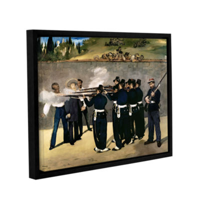 Brushstone The Execution of Emperor Maximilian Gallery Wrapped Floater-Framed Canvas Wall Art
