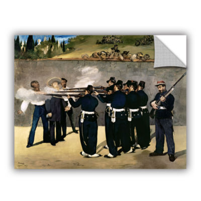 Brushstone The Execution of Emperor Maximilian Removable Wall Decal