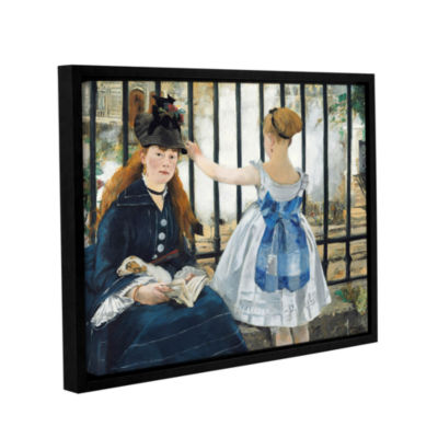 Brushstone The Railway Gallery Wrapped Floater-Framed Canvas Wall Art