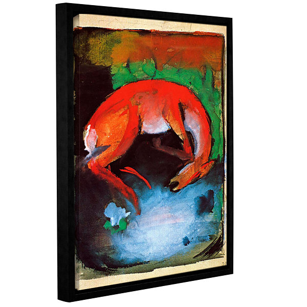 Brushstone Dead Deer Gallery Wrapped Floater-Framed Canvas Wall Art