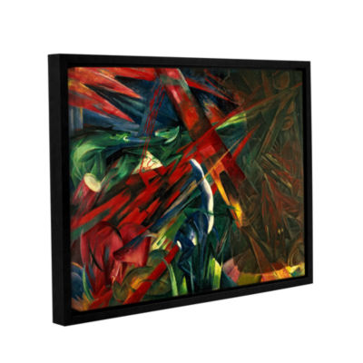 Brushstone Fate of The Animals Gallery Wrapped Floater-Framed Canvas Wall Art