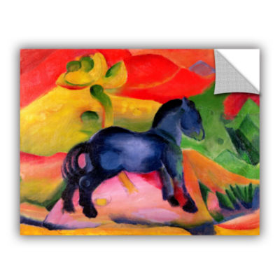 Brushstone Little Blue Horse Removable Wall Decal