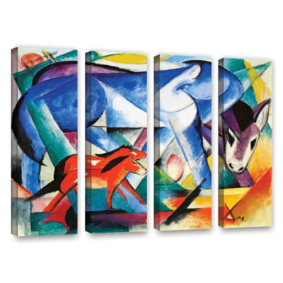 Brushstone The First Animals 4-pc. Gallery WrappedCanvas Wall Art
