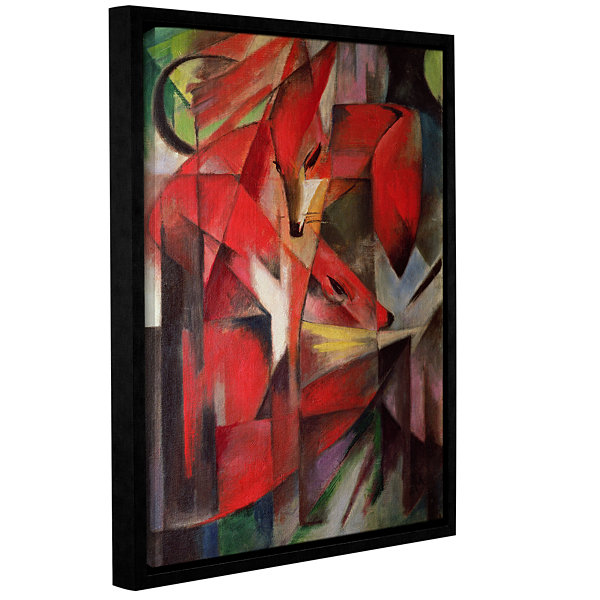 Brushstone The Fox Gallery Wrapped Floater-FramedCanvas Wall Art