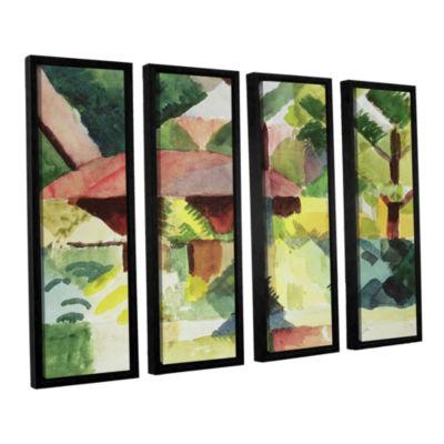 Brushstone The Garden 4-pc. Floater Framed CanvasWall Art