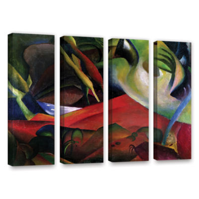 Brushstone The Storm 4-pc. Gallery Wrapped CanvasWall Art