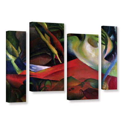 Brushstone The Storm 4-pc. Gallery Wrapped Staggered Canvas Wall Art