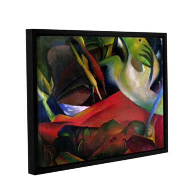 Brushstone The Storm Gallery Wrapped Floater-Framed Canvas Wall Art