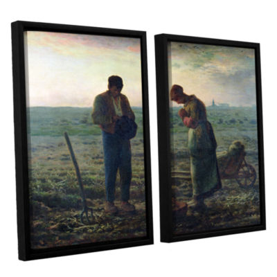 Brushstone The Angelus 2-pc. Floater Framed Canvas Wall Art