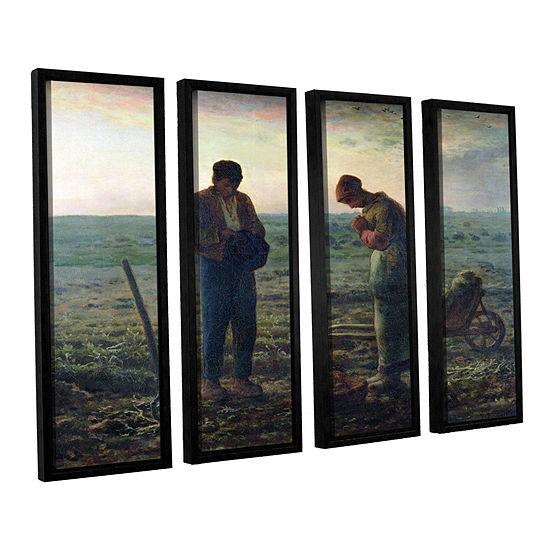 Brushstone The Angelus 4-pc. Floater Framed Canvas Wall Art