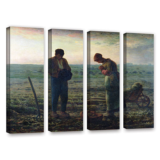 Brushstone The Angelus 4-pc. Gallery Wrapped Canvas Wall Art