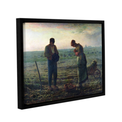 Brushstone The Angelus Gallery Wrapped Floater-Framed Canvas Wall Art